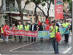 oclarinet - Setubal - Marcha Contra o Desemprego 1. Out 2012