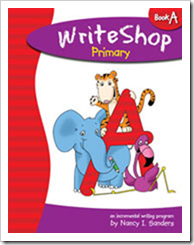 writeshop primary A
