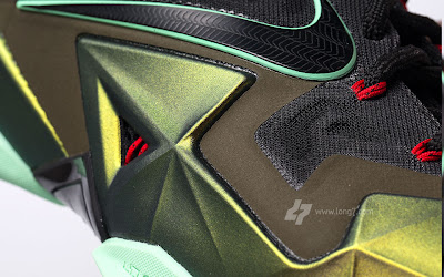 nike lebron 11 gr army slate 9 24 parachute gold Nike LeBron XI is Coming out on October 12th. New pics!