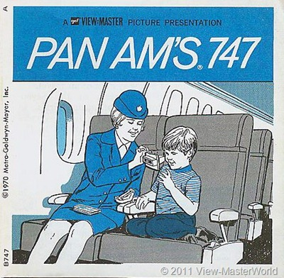 View-Master Pan Am's 747 (B747), Booklet Cover