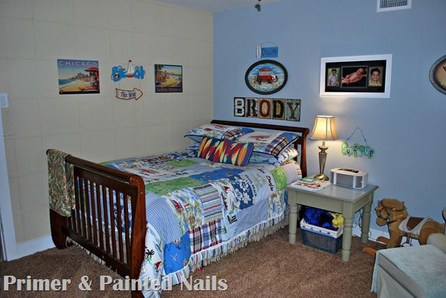 Surf Bedroom - Primer&Painted Nails