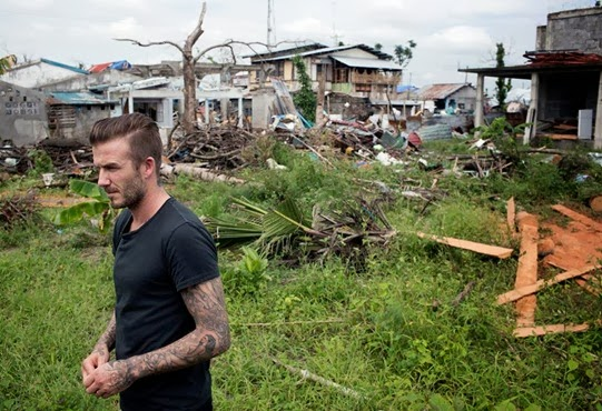 David Beckham Typhoon Haiyan Unicef (7)
