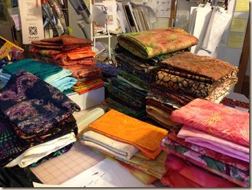 batiks folded
