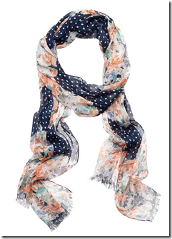 Bell floral scarf jeanswest