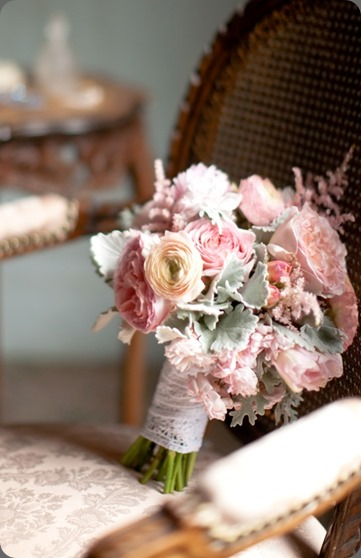 Vintage Pink Wedding Florals (6)b oak and the owl