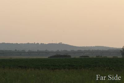 Smoky Hills are smoky