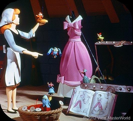 View-Master Walt Disneys Cinderella (B318), Scene 5