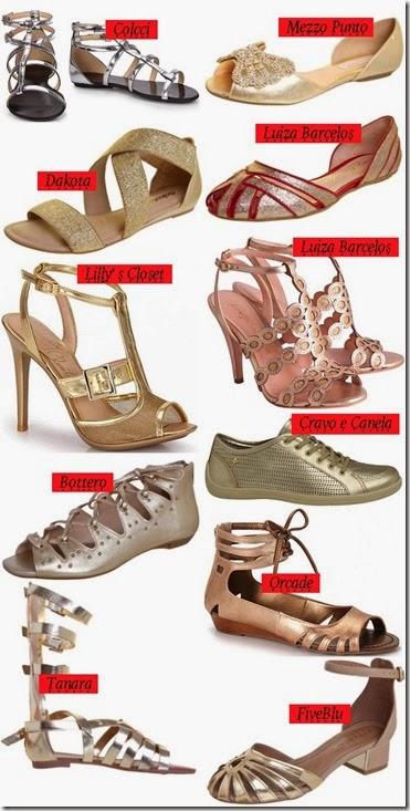 Moda-primavera-verão-2014-sapato-prata-sapato-dourado-sapato-cobre