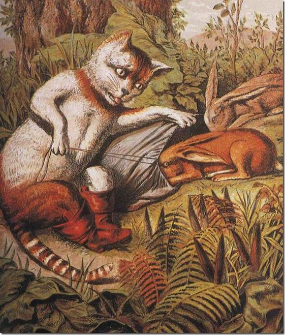 El Gato con Botas,El gato maestro,Cagliuso, Charles Perrault,Master Cat, The Booted Cat,Le Maître Chat, ou Le Chat Botté (38)