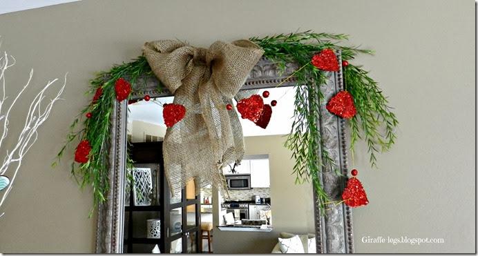 Valentines Mantel 2014 3