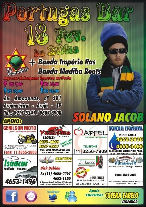 portugas reggae bar evento