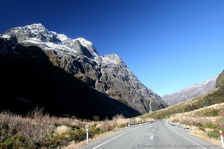 Straße Berge