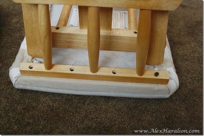 Do It Yourself Recover Glider Rocker2