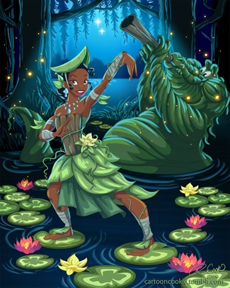 Swamp Bender Tiana by Racookie3 on DeviantArt