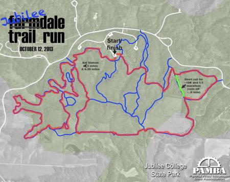 Jubilee map