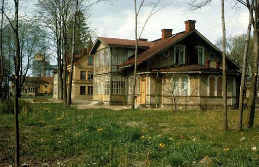 ullgarn 1c. Gillbergska barnhemmet eller Judiska barnhemmet 1964