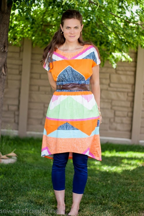 geometric staple dress sew a straight line-11