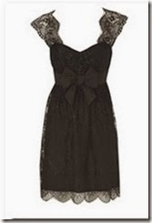 Oasis Black Lace Dress