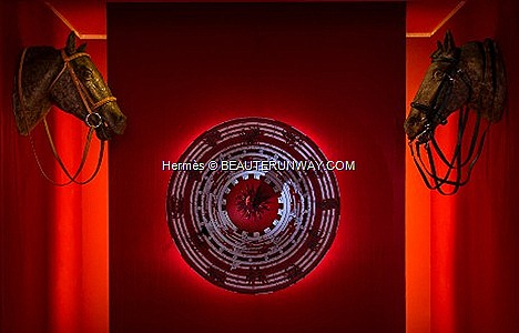 Hermes Gift Of Time exhibition WATCH 2012 THE ORIGN OF TIME Never forget  The first role of Light is to make the Dark more beautiful  not to measure the day Free time suspended balance clock saddler stroke imaginary vison gift time