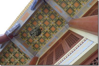 mosaic tiles 瓷磚天花