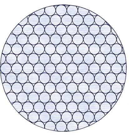 Et broderi med bobleplast sånn som det vil se ut i 5D Embroidery (Extra).