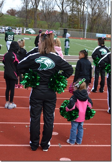 Oct 27 2012 Eagle Game Cheering 074 edited