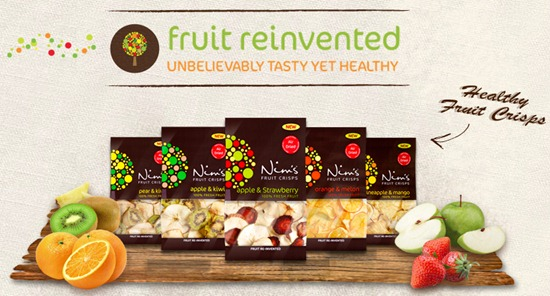 Nims Fruit Crisps Website