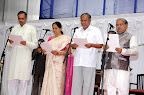 New Ministers Swearing  Vishveshvara Hegde Kageri,Shobha Karandlaje,Suresh Kumar,Govind Karjol 