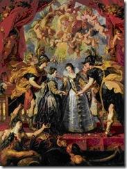 Rubens - A troca de roupas das princesas