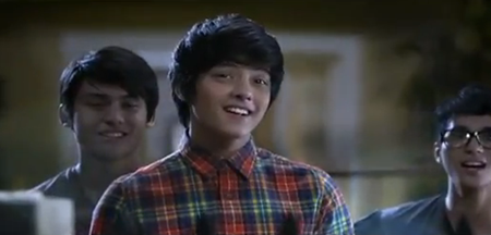 Daniel Padilla in KFC TV ad