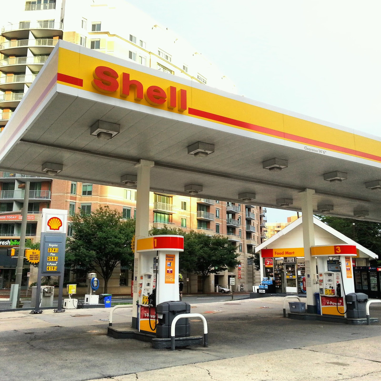 robert dyer bethesda row shell gas station at 7628 old