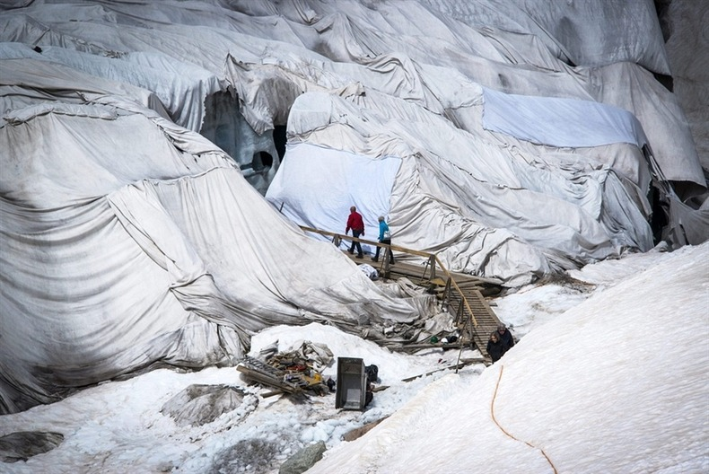 Предотвращение таяния ледников