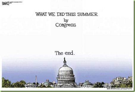 congress summer vacation