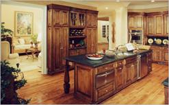Gambar Desain Dapur Nuansa Klasik 1