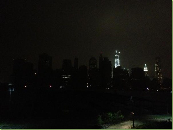 lower manhattan lights out