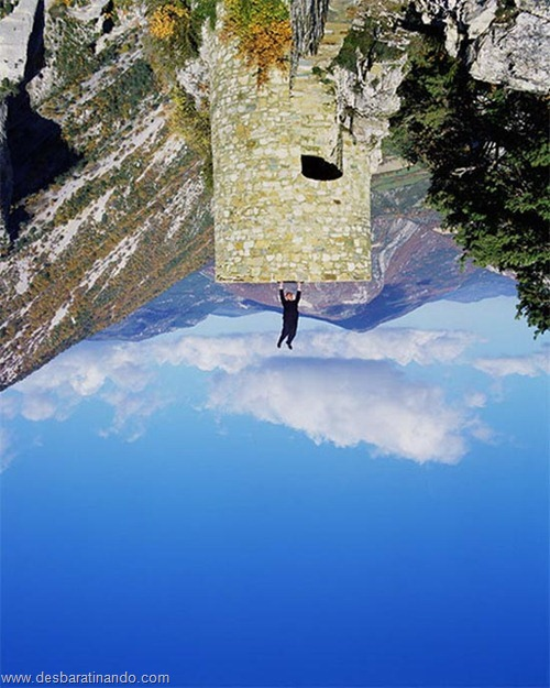 fotos que desafiam a gravidade desbaratinando  (2)