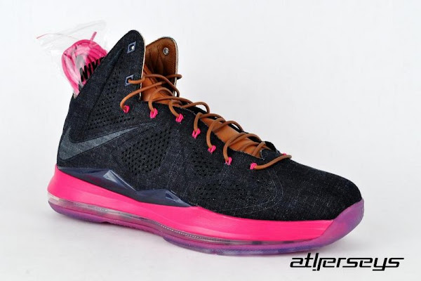 Nike LeBron X EXT Denim QS Drops at Footlocker Australia