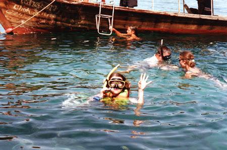 Sporturi de apa Thailanda: snorkeling Phi Phi
