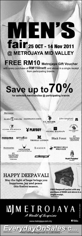 Metrojaya-Mens-Fair-2011-EverydayOnSales-Warehouse-Sale-Promotion-Deal-Discount