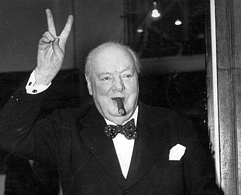 Уинстон ЧерчиллЬ - не ученый, но...