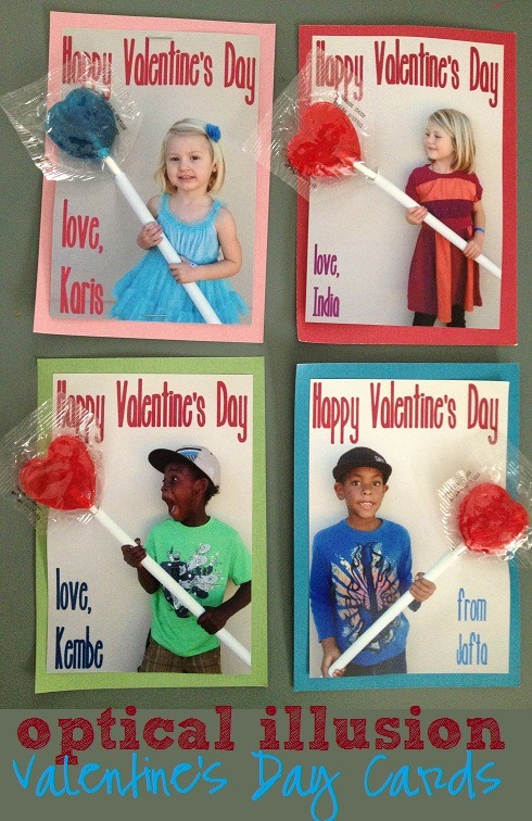 Rage Against the Minivan optical illusion lollipop valentines – Christian Valentine Cards for Kids