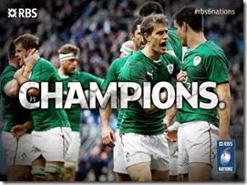Irlanda - Campeón 6 Naciones 2014