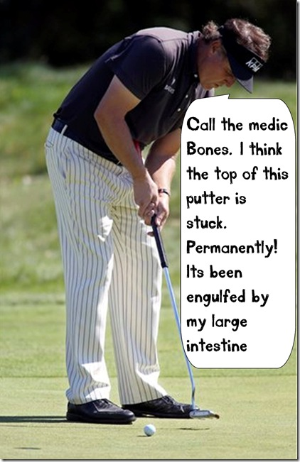 phil mickelson belly putter funny