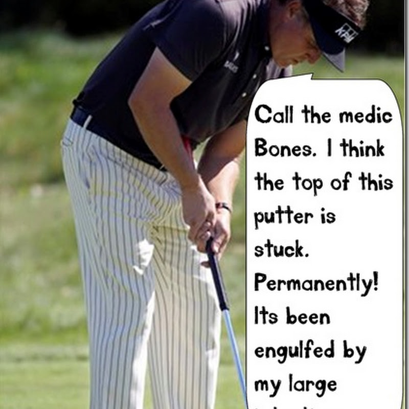 Some People Just Don't Have The Physique For a Belly Putter