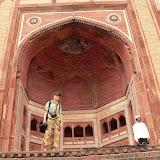 Entrée de la mosquée Zenana Rauza
