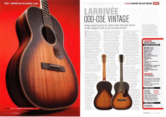 Acoustic ooo03evintage 560