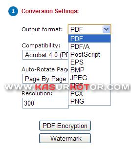Convert Dokumen, Spreadsheet dan Presentasi ke Gambar atau PDF