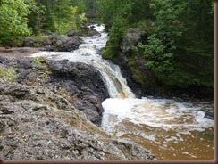 Amnicon Falls S.P WI-Now & Then Falls