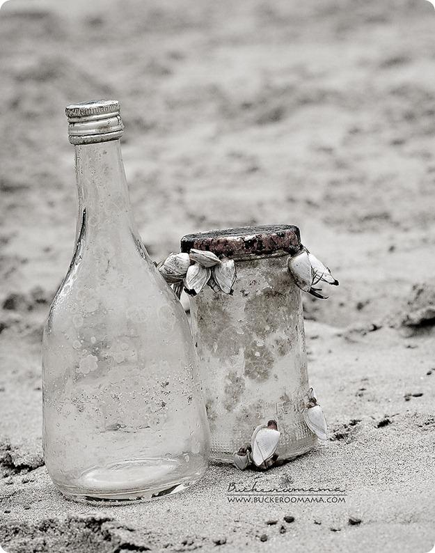 Bottles-BW