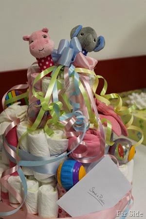 Sarahs Diaper cake